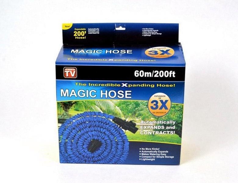 Шланг поливочный растягивающийся MAGIC HOSE 60 м/200ft