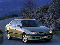 Ветровики, дефлекторы,защита окон для автомобиля Toyota Avensis 4d/5d 1997-2003 \ Тойота Авенсис (29323 / 056)