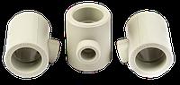 Тройник ППР 40*25*40 переходной для пайки полипропиленовых труб PPR KLD