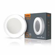 LED светильник ART круглый VIDEX 15W 5000K 220V
