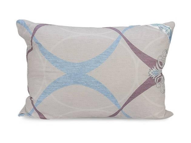 Подушка Leleka-textile Экстра 50*70 см сатин/силиконовые шарики С81, фото 2