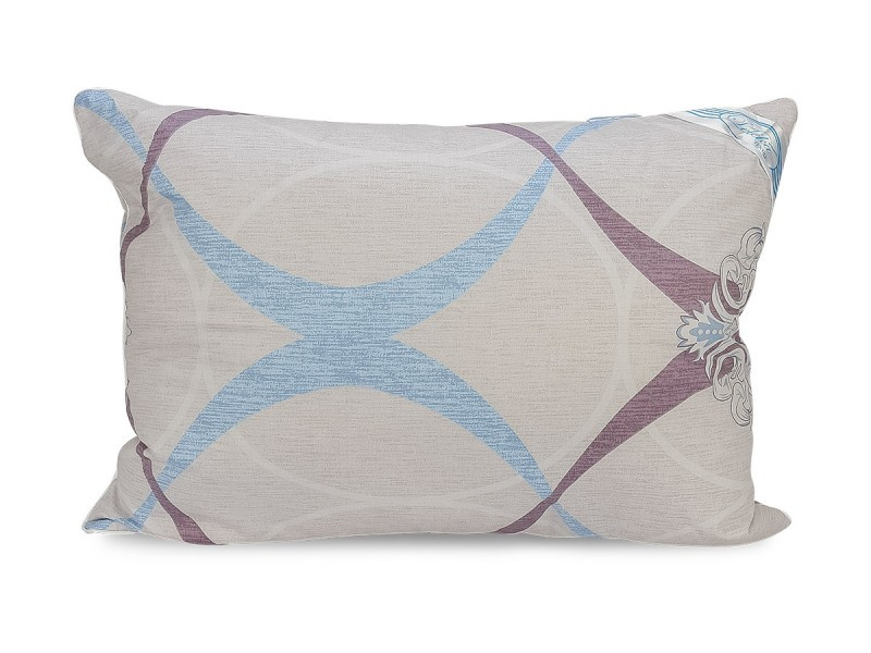 Подушка Leleka-textile Екстра 70*70 см сатин/силіконові кульки С81