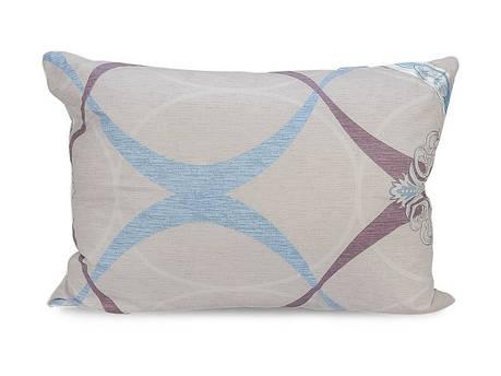 Подушка Leleka-textile Екстра 70*70 см сатин/силіконові кульки С81, фото 2