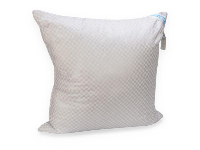 Подушка Leleka-textile Лебяжий пух 70*70 см тик/искусственный пух Т5