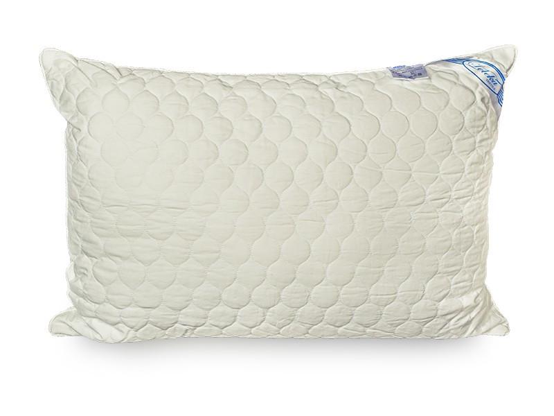 Подушка Leleka-textile Экстра 70*70 см сатин/холлофайбер стеганая С12