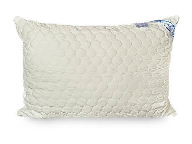 Подушка Leleka-textile Экстра 70*70 см сатин/холлофайбер стеганая С12, фото 2