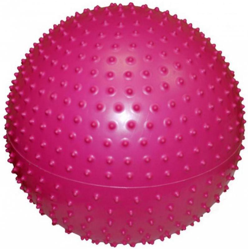 Мяч для фитнеса массажный с шипами 85 см + Насос