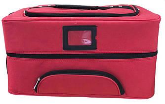 Кейс сумка большая красная
