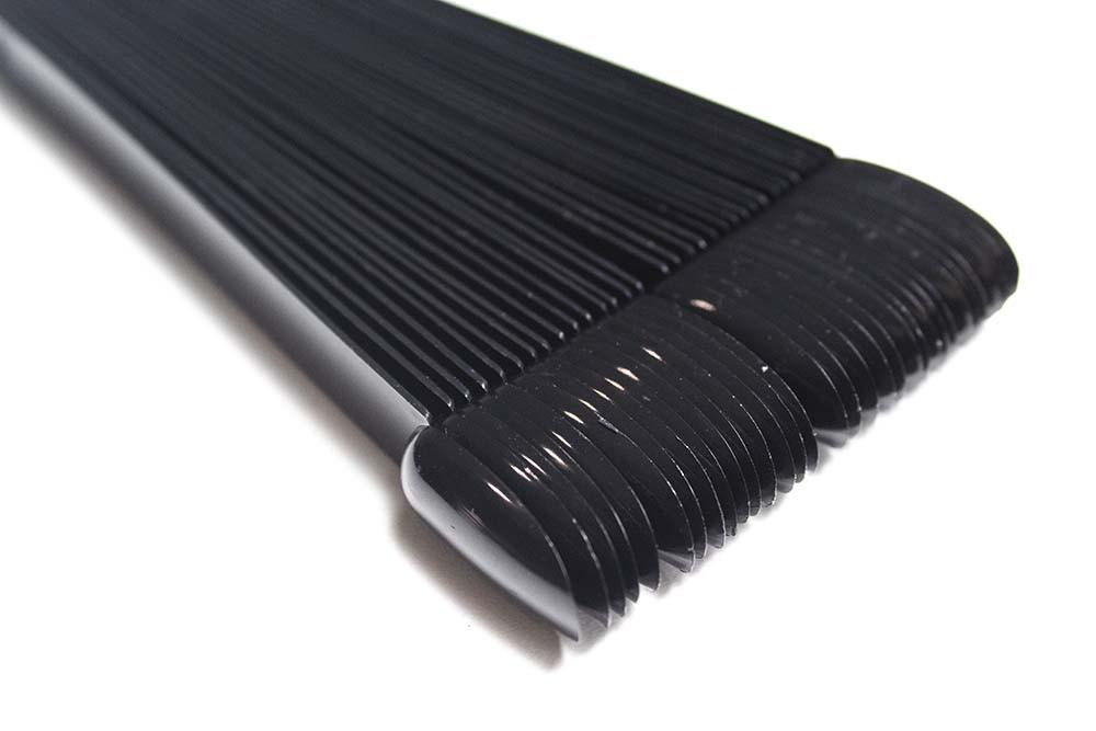 Палітра для нігтів на кільці чорна (міні)