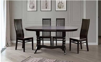 Комплект обеденный Стол Говерла + стулья Парма венге (4 шт)