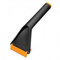 Автомобильный скребок для льда Fiskars Solid Черный 1019354, КОД: 1536815