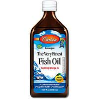 Рыбий жир Carlson Labs Fish Oil Лимон 500 мл 2318, КОД: 1535382