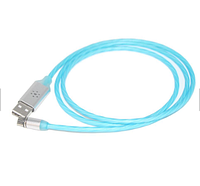 Кабель для зарядки REMAX USB 3.0 Iphone lightning 8Pin Quick Charge 3.0 1 м Синий hubXpZP01565, КОД: 1669150