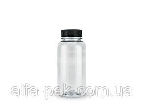 Бутылка 0,25 л прозрачная 38 мм горловина+ пробк