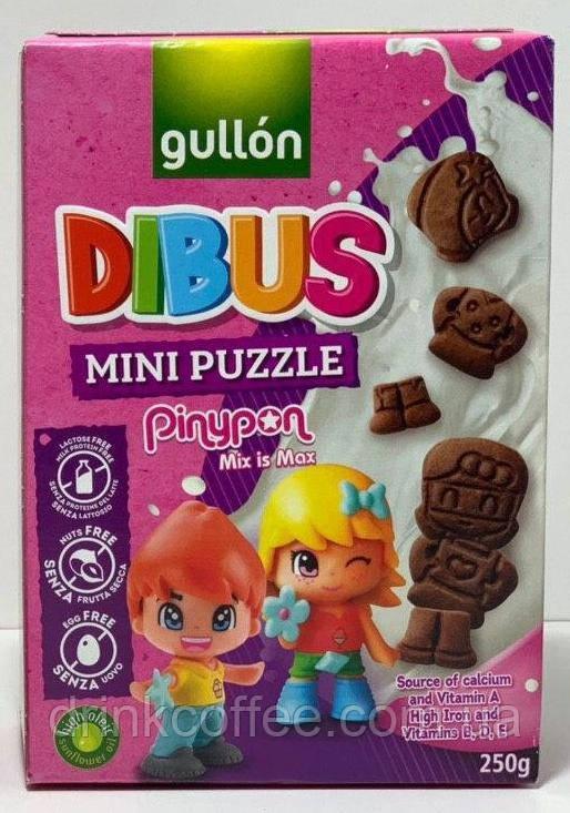 Печиво Gullon Dibus mini puzzle Іспанія 250г