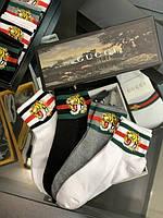 Носки Gucci высокие принт тигр|Носки высокие Гуччи тигры мужские женские|Котоновые носки Гуччи Тигр