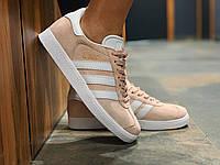 Кроссовки натуральная замша Adidas Gazelle Адидас Газель  (36,37,38,39,40)
