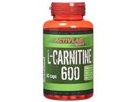 L-carnitine 600 with L-ornithine and L-arginine 60 caps