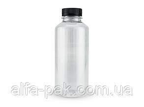 Бутылка 0,5 л прозрачная 38 мм горловина+пробка