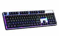 Клавиатура с подсветкой Keyboard HK-6300 Черная 300474, КОД: 1717289