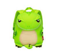Детский рюкзак Nohoo Динозаврик 27х23х12 см Салатовый NH029 Green, КОД: 1605359