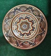 """Декоративна дерев""""яна тарілка на стіну ручної роботи"""