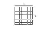 3д панель для стіни Orac Decor W104 Kilt