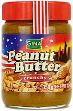 Арахисовая паста Gina Peanut Butter с кусочками арахиса 500 гр. Германия