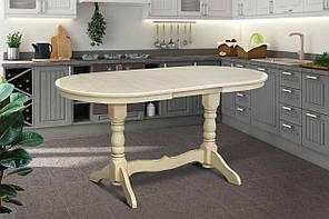 Розкладний стіл Говерла 160*90см (слонова кістка)