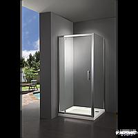 Душевая кабина , стекло серое, PRIMERA Frame SHRG56906 90х90 см
