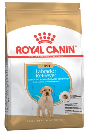 Сухой корм Royal Canin (Роял Канин) LABRADOR Puppy для щенков Лабрадоров до 15 месяцев, 3 кг