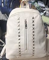 Молодёжные рюкзаки Китай  РАСПРОДАЖА! (МОЛОЧНЫЙ)29*26см