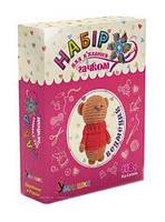Набор для вязания Умняшка Мягкая игрушка Мишка TOY-100237, КОД: 1279303