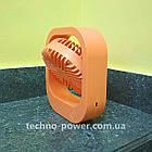 Настольный мини вентилятор портативный DianDi Square. Вентилятор аккумуляторный 2 скорости, фото 9