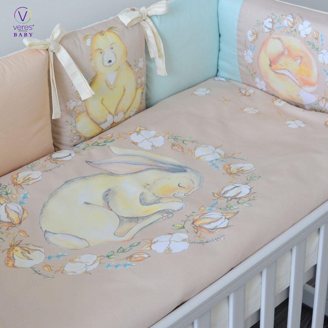 Постельный комплект для новорожденных Baby Veres Cotton touch