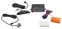 Парктроник автомобильный UKC 8 датчиков LCD монитор Черные датчики (46350)