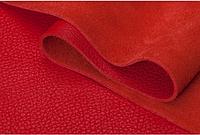 Натуральная кожа Флотар, красная, галантерейная, обувная, глянец, КРС