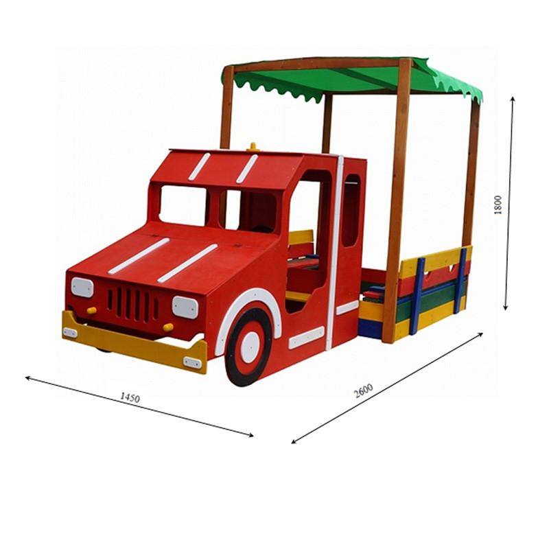 Песочница - Пожарная машина SportBaby Песочница - 17