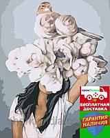 Картина по номерам Рассвет Эми Джадд (цветной холст) 40*50см Розпис по номерах