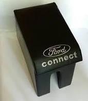 Подлокотник Ford Connect с логотипом черный