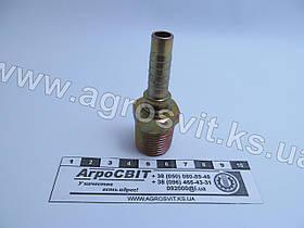 """Штуцер AGR-K 1/2""""-14  (под шланг dу=10 мм.)"""