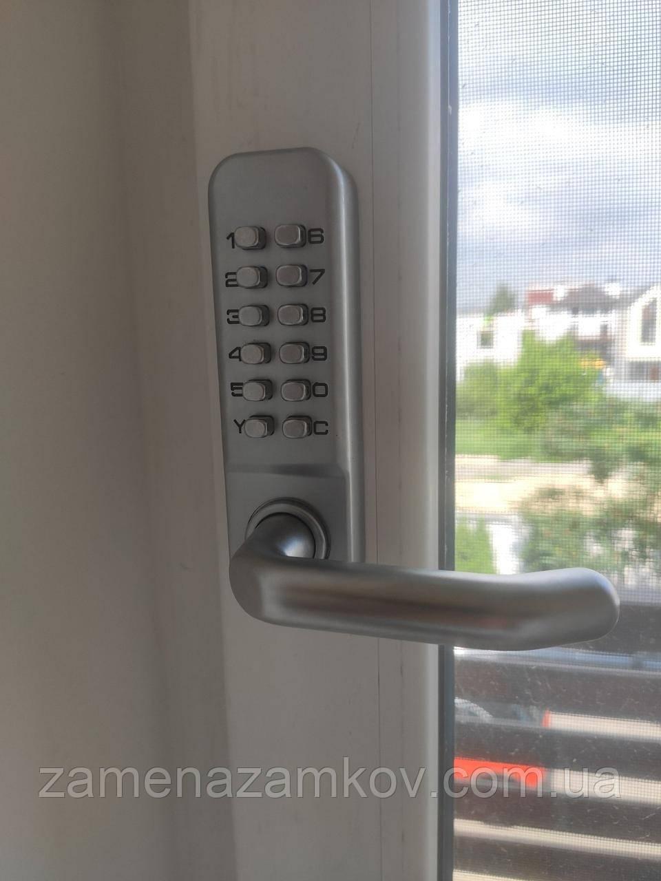 Кодовый замок Lockod для любых дверей, с нажимными ручками