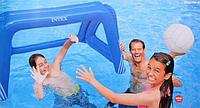 Надувне ворота Intex для футбола и водного поло, с надувным мячом 140-89-81 см