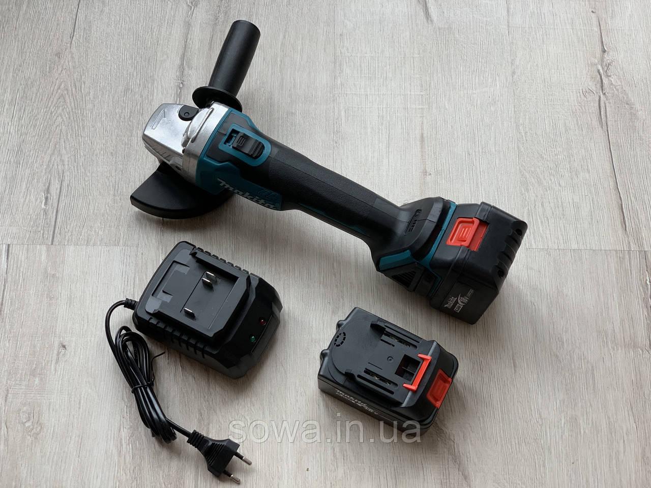 Болгарка акумуляторна безщіткова Makita DGA554 / 18V