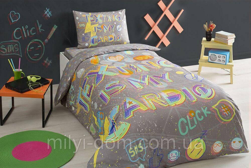 Набор подросткового постельного белья TAC Click  (простынь на резинке)