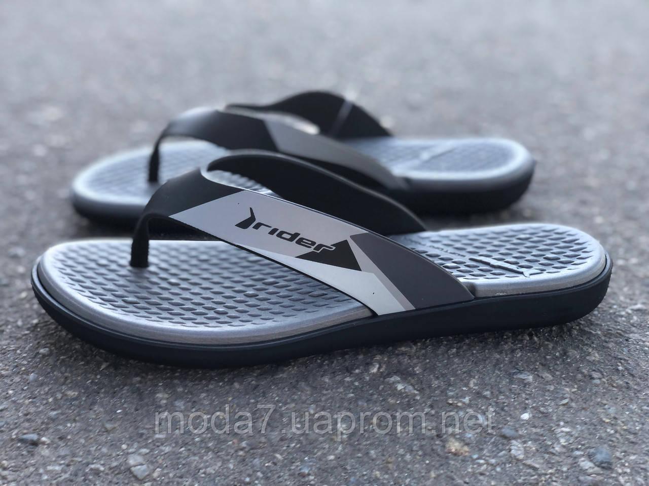 Вьетнамки RIDER Aqua Fem 82568 Black/Grey