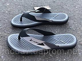 Вьетнамки RIDER Aqua Fem 82568 Black/Grey, фото 3