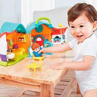 Музыкальная игрушка Кукольный домик, игрушки для девочек, раннее развитие, Hola Toys