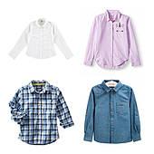 Рубашки для мальчиков и девочек