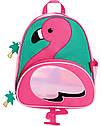 """Рюкзак для девочки SkipHop """"Фламинго"""" , рюкзачок детский Скип Хоп с фламинго ОРИГИНАЛ, фото 3"""